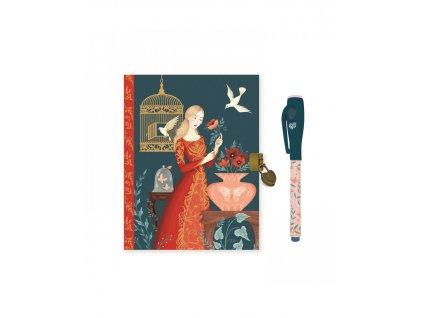DJECO Tajný deník Lisa s magickým perem
