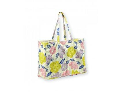 Velká nákupní taška Flowers field
