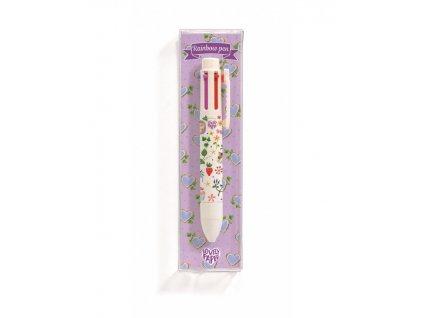 DJECO Duhové šestibarevné pero Aiko