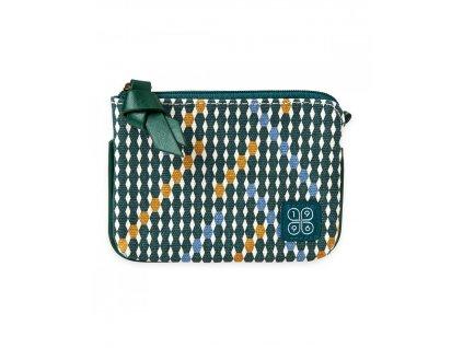 Malá peněženka Zelená
