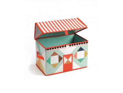 DJECO Box na hračky Domeček