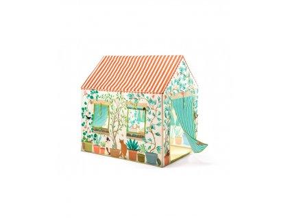 látkový domeček pro děti