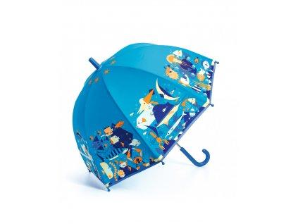 Krásný designový deštník Mořský svět