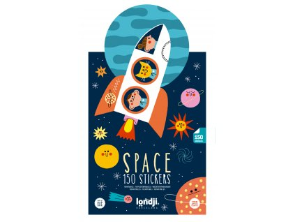 space stickers set 6