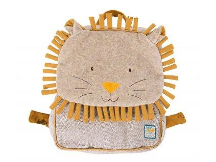 Plyšový batoh Lev