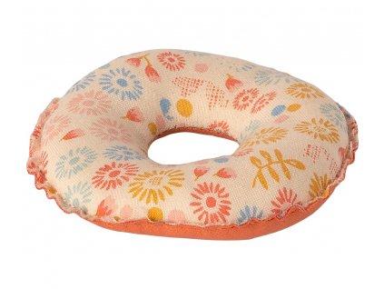 MAILEG Nafukovací kruh - kytičky
