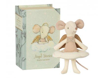 MAILEG Andělská myška v knize - velká sestra