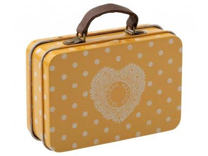 MAILEG Kovový kufřík - žlutý
