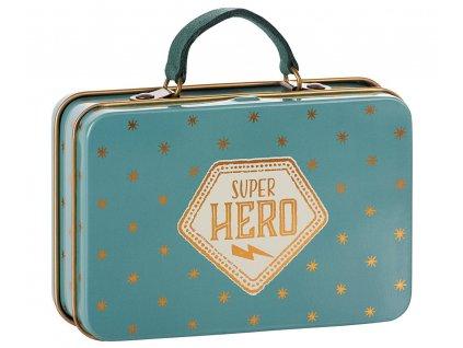MAILEG Kovový kufřík - Superhero