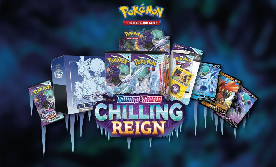Pokemon TCG - Chilling Reign