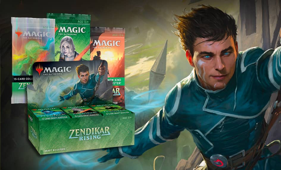 Zendikar Rising přichází s novými Set Boostery i tradičními produkty.