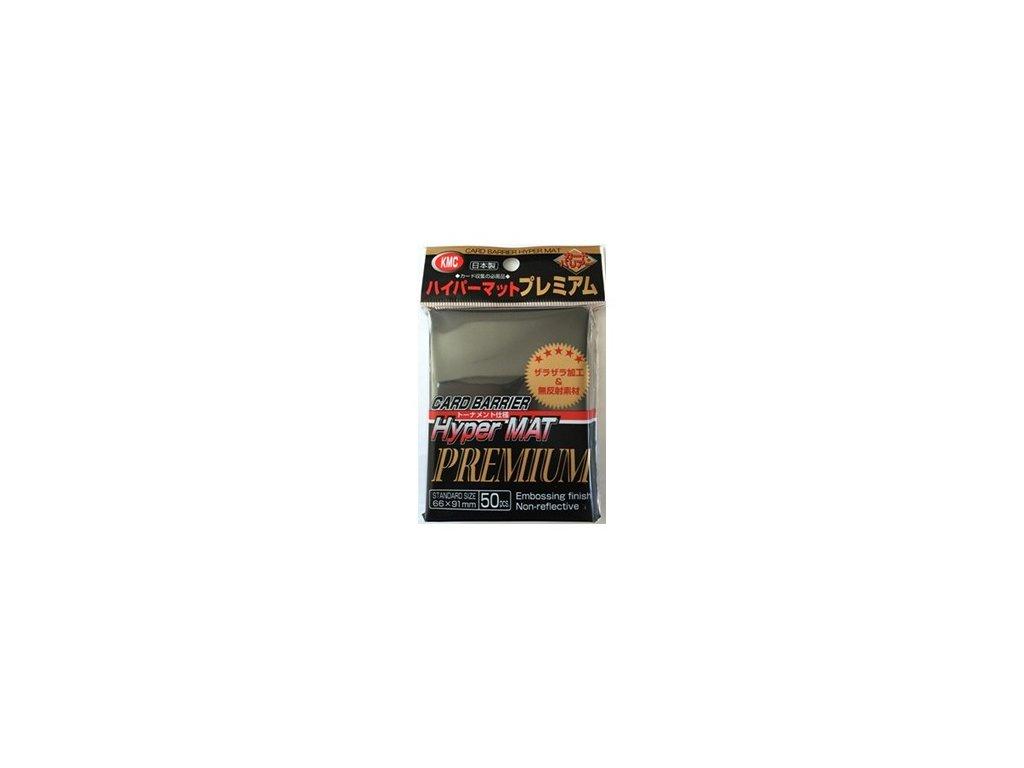 KMC Premium Hyper Mat Black obaly (50 ks)