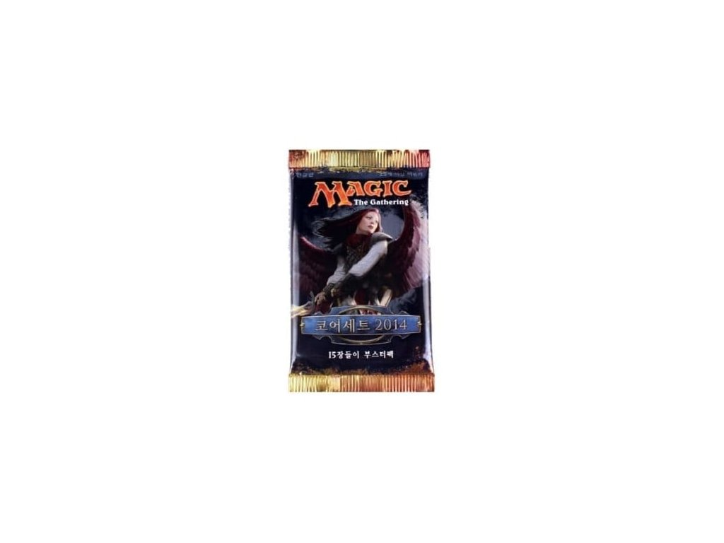 magic the gathering magic 2014 m14 booster pack korean p52569 88776 medium