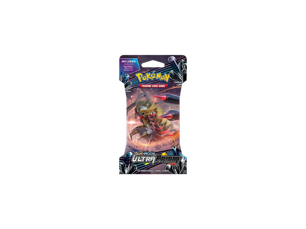 Sun and Moon Ultra Prism Sleeved Boosterpack 1