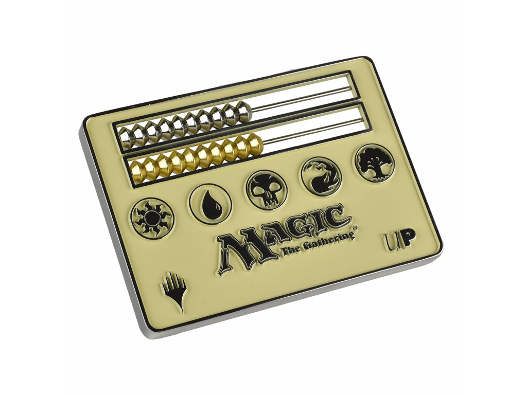 Abacus White Life Counter pro Magic: The Gathering