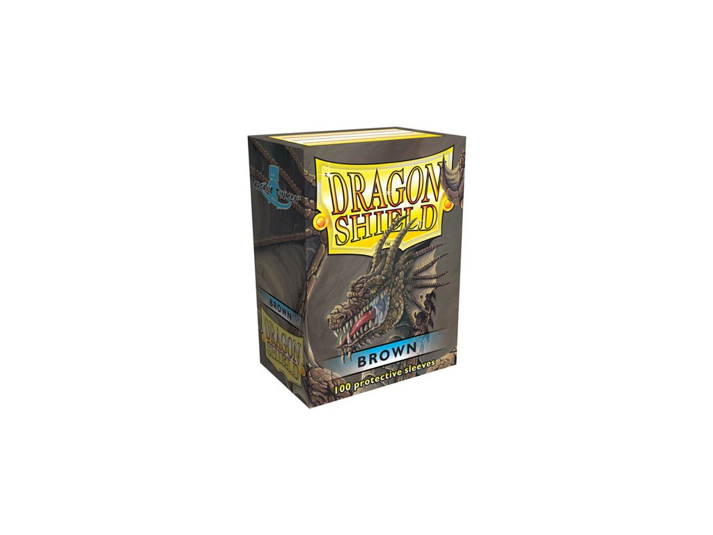 dragon shield box brown