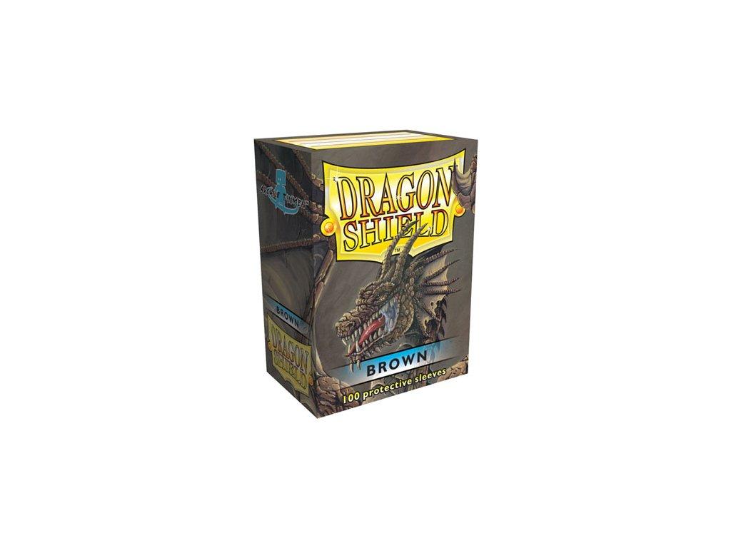 dragon shield box brown