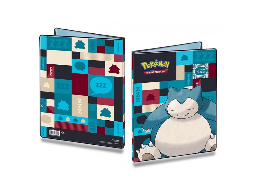 pokemon a4 sberatelske album snorlax 5b096d0481044