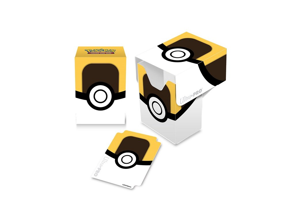 Pokémon - Ultra Ball Full-View Deck Box