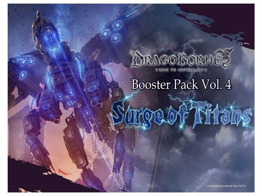 dragborne surge of titans booster box info