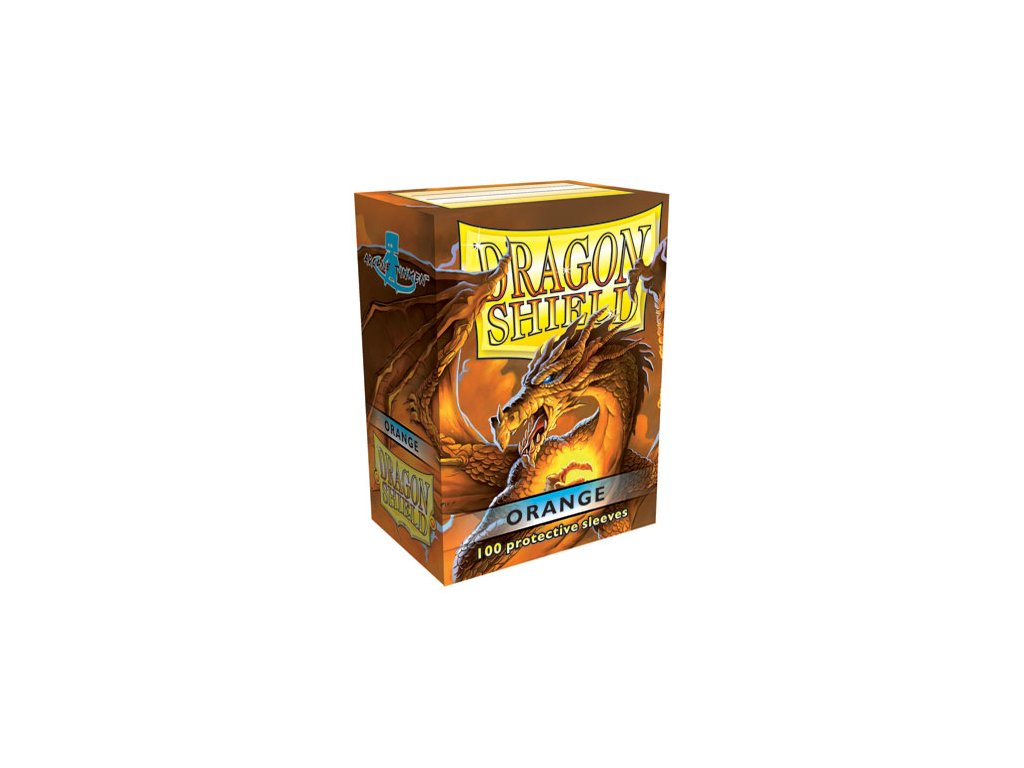 dragon shield box orange