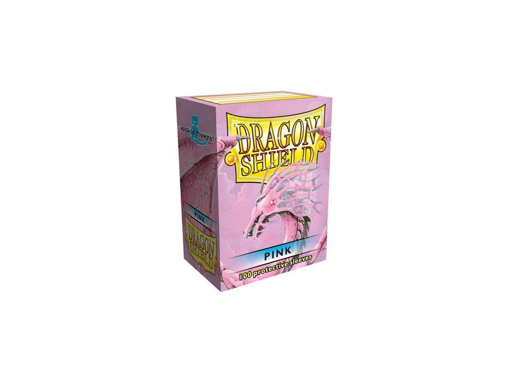 dragon shield box pink