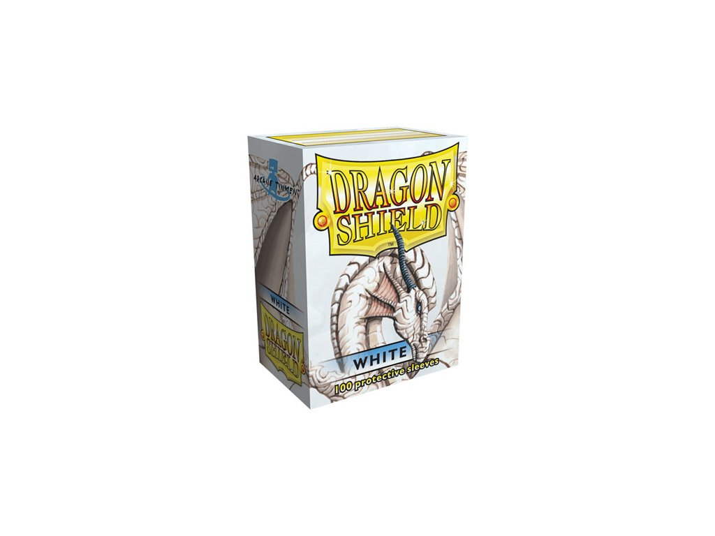 dragon shield box white