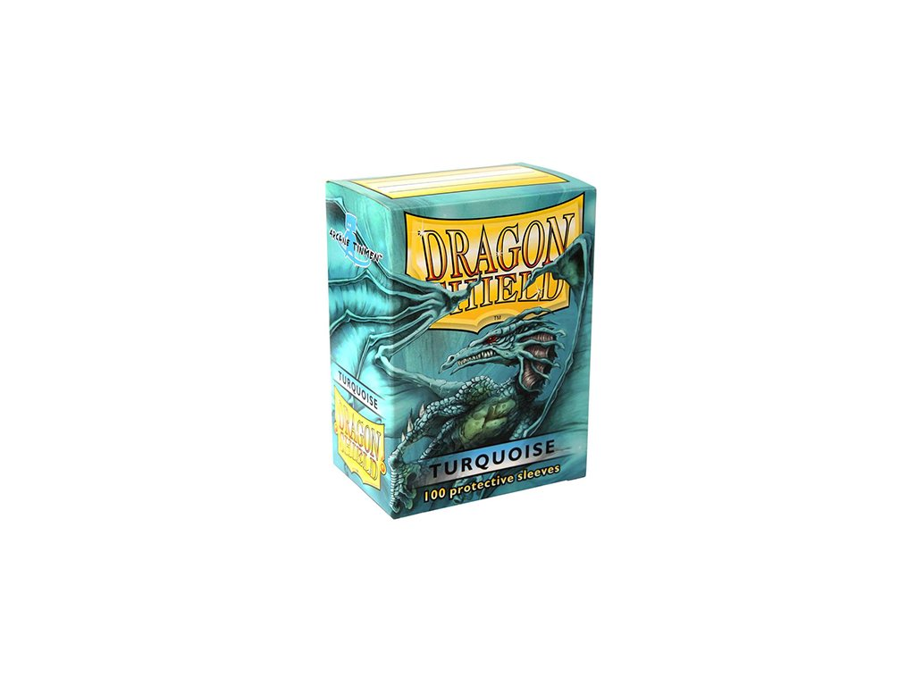 dragon shield box turquoise
