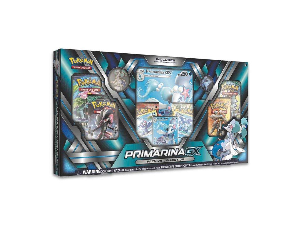 pokemon karty primarina gx premium collection