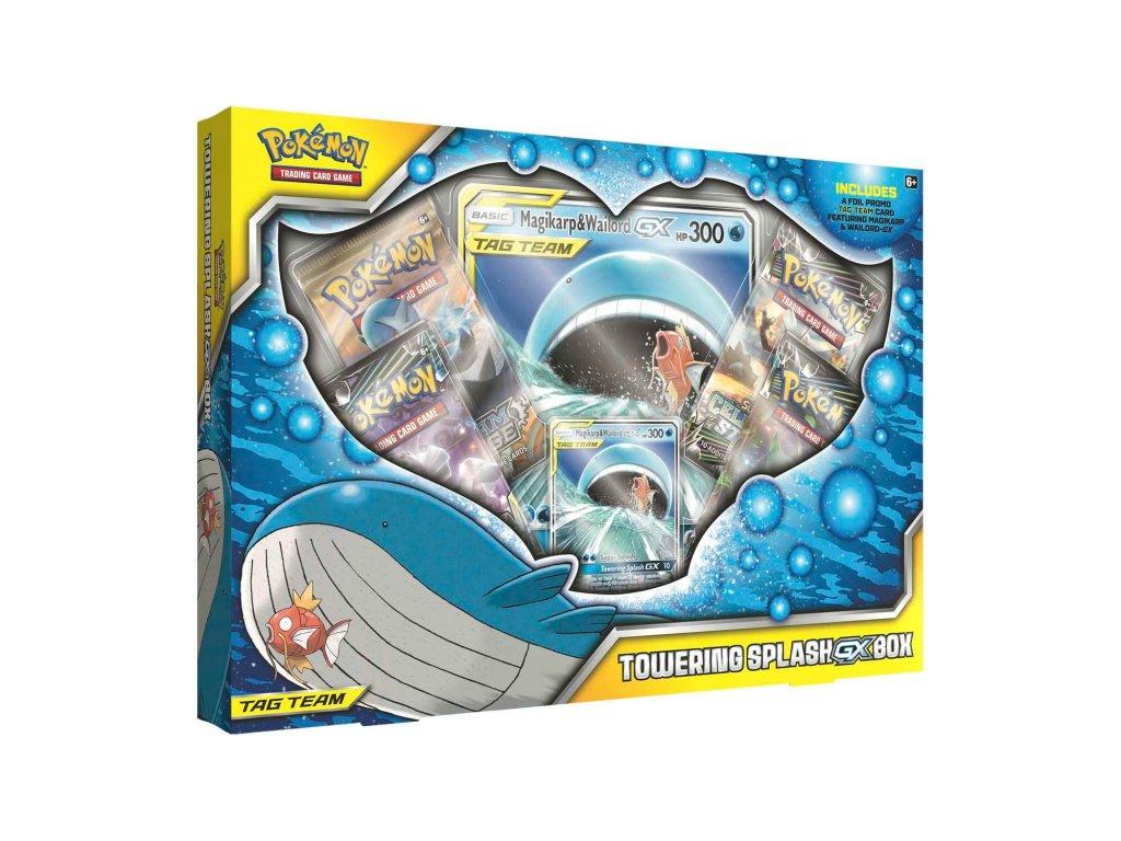 pokemon towering splash gx box