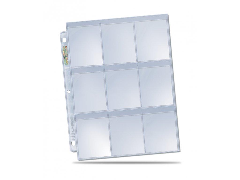 "Ultra Pro ""Secure"" PLATINUM 9-Pocket Page"