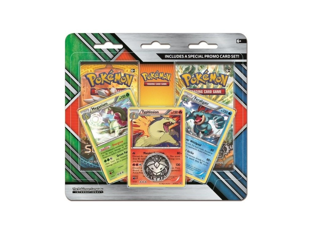 pokemon enhanced 2 pack blister meganiumtyphlosionferaligatr