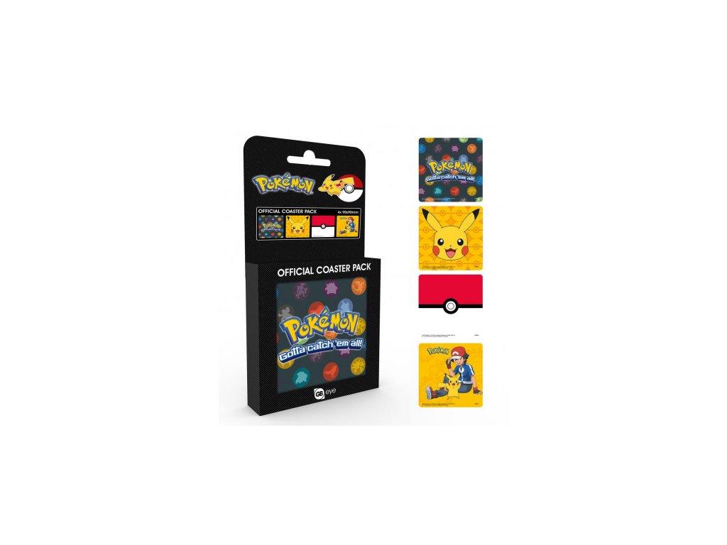 86118 Pokemon podtácky Mix 634x431
