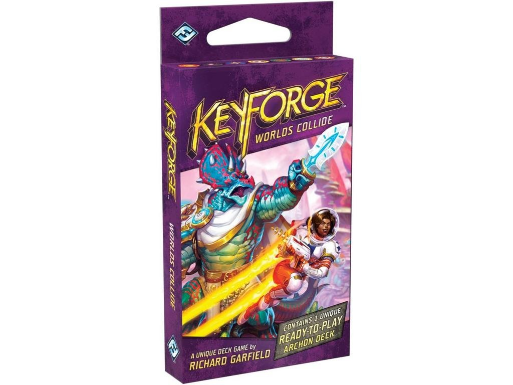 KeyForge Worlds Collide Archon Deck
