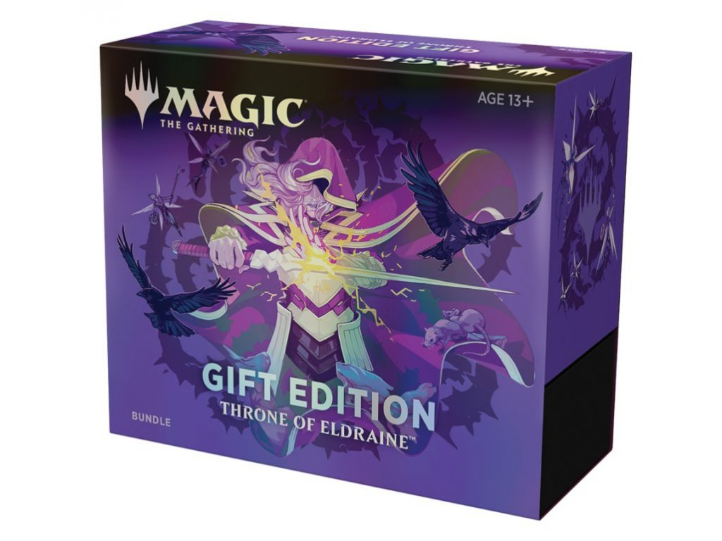 bundle magic gift edition trone eldraine