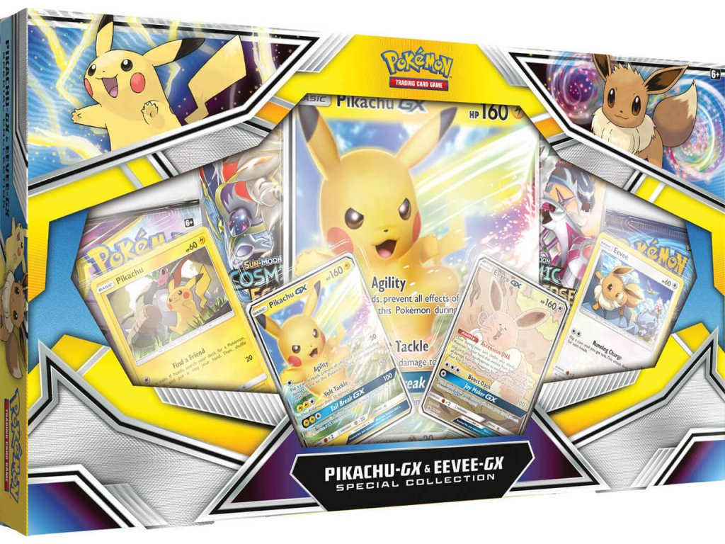 Pikachu Eevee GX Special Collection 31204.1567807575