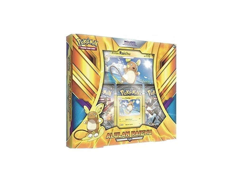 pokemon poc490alolan raichu box 30536856