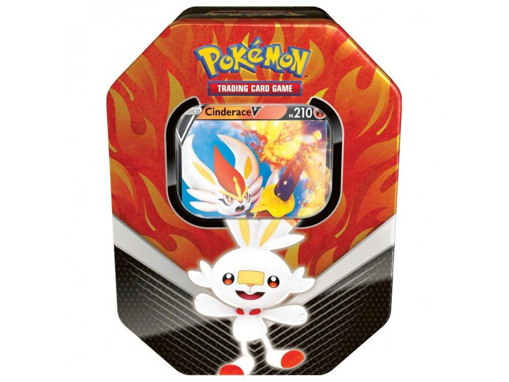pokemon tcg galar partners cinderace v tin new