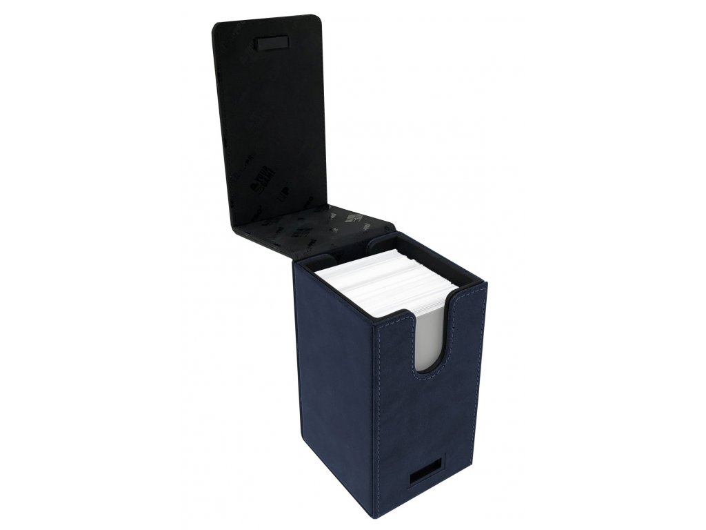 6176 ultra pro alcove tower suede collection sapphire deck box