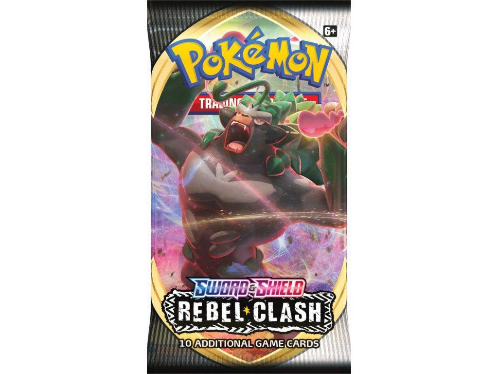 Sword Shield Rebel Clash Booster Rillaboom EN 2 41058.1583260335