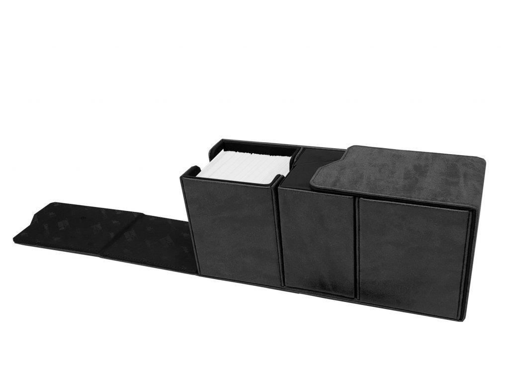 Ultra Pro - Suede Collection Alcove Vault Deck Box - Jet