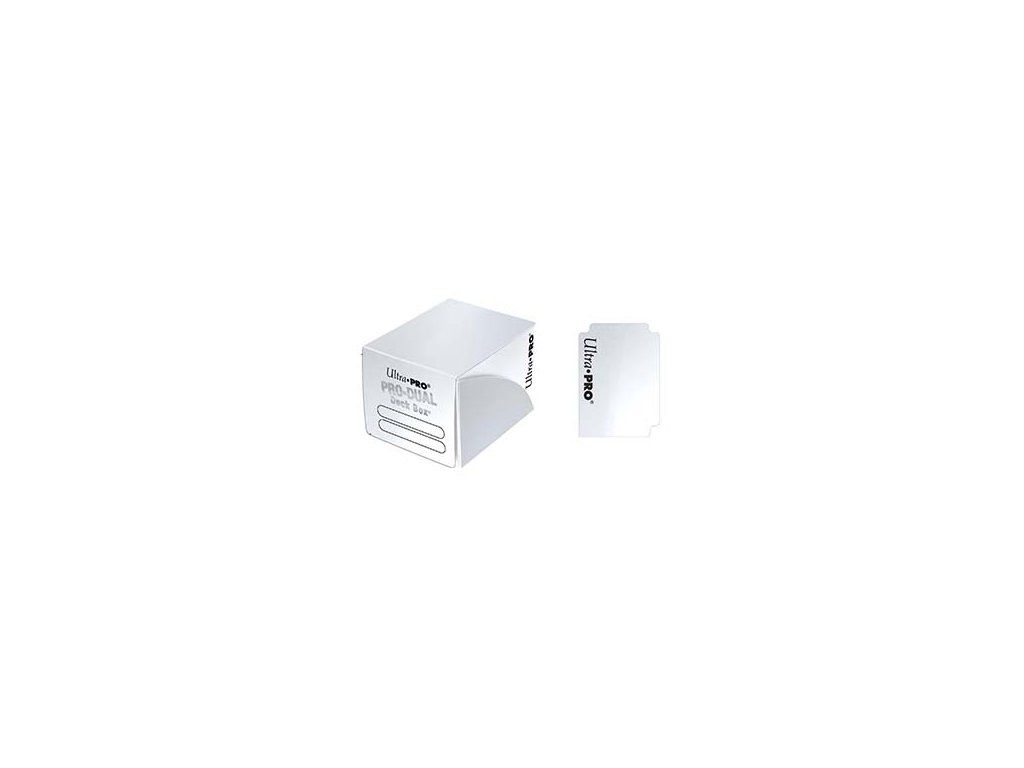 Ultra Pro - Dual Small krabička - White