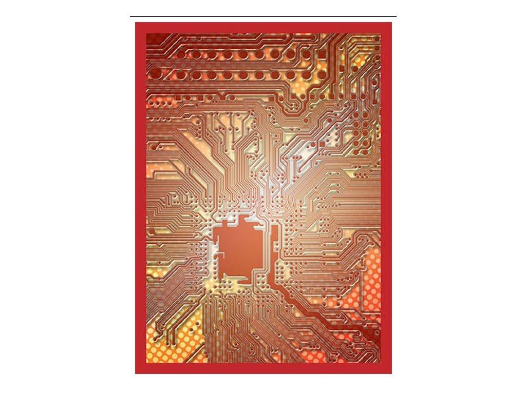Legion - Standard obaly - Circuit Red (50 ks)