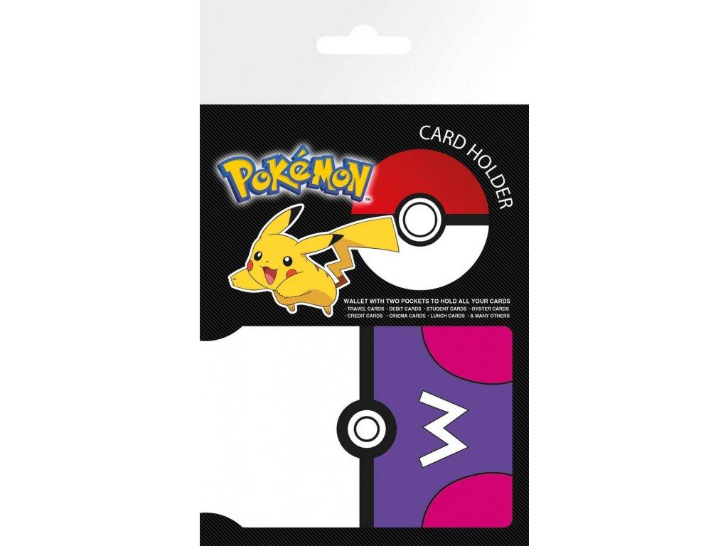 pokemon masterball travel pass card holder 1.11