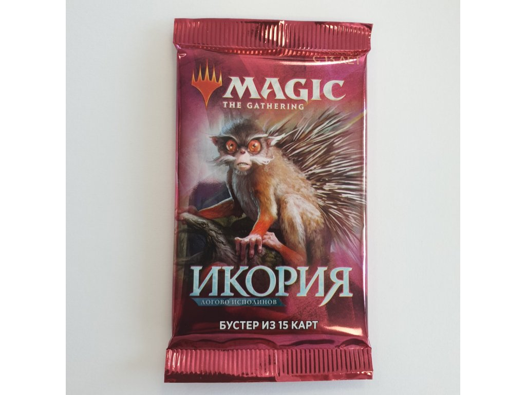 Magic: the Gathering - Ikoria: Lair of the Behemoths Booster (RU)