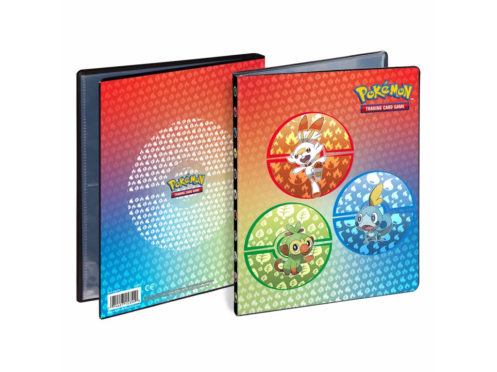 Ultra Pro - Pokémon: Sword & Shield Galar Starters Album A5