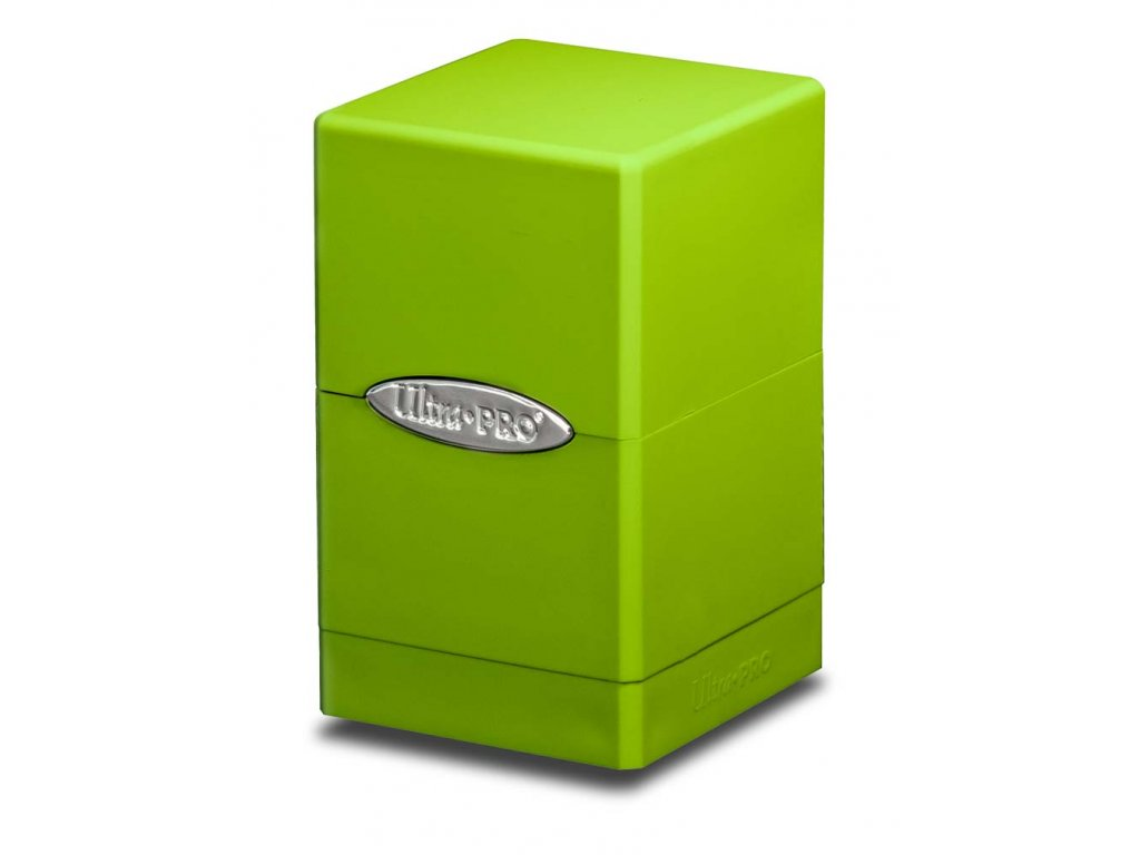 Ultra Pro Satin Tower (Lime Green)