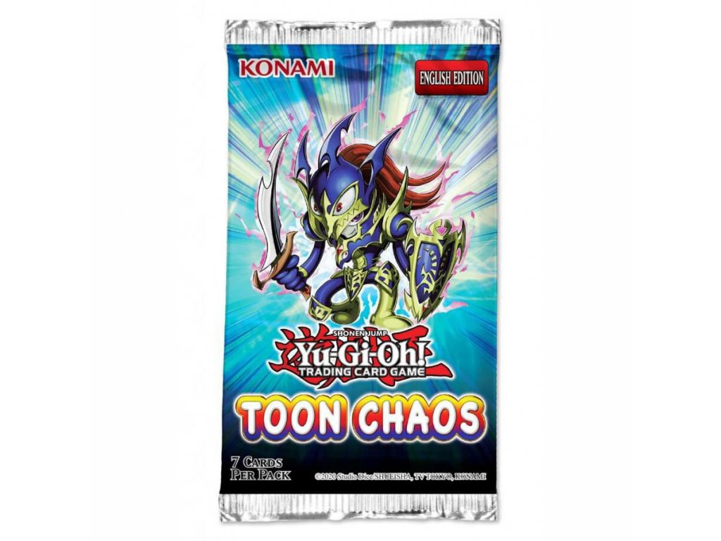 yu gi oh tcg toon chaos booster pack unlimited 1
