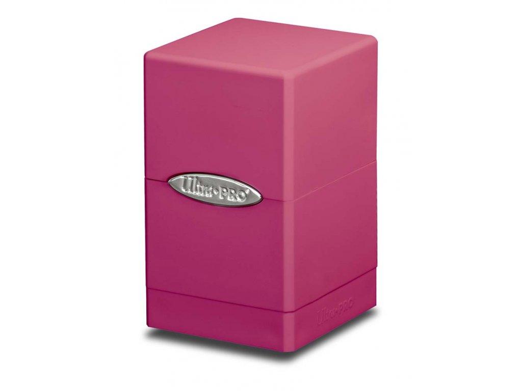 Ultra Pro Satin Tower (Bright Pink)