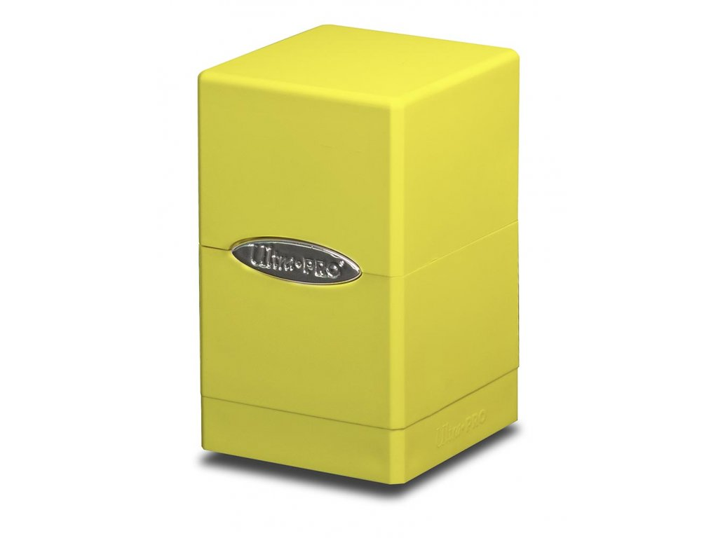 Ultra Pro Satin Tower (Bright Yellow)